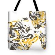 James Connor Pittsburgh Steelers Pixel Art 3 Tote Bag