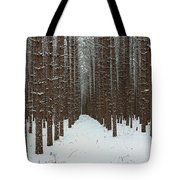 January Forest Tote Bag