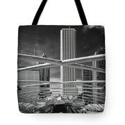 Jay Pritzker Pavilion Infrared Tote Bag