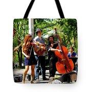 Jazz Musicians Tote Bag