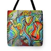 Jazz-swing Tote Bag