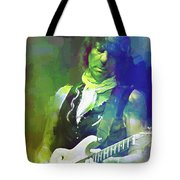 Jeff Beck, Love Is Green Tote Bag
