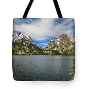 Jenny Lake Grand Teton National Park Vista Tote Bag by Dan Sproul