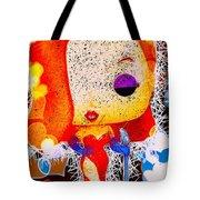 Jessica Rabbit Pop Tote Bag by Al Matra