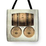 J.h. Cutter Old Bourbon Tote Bag