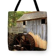 John Cable Mill In Cades Cove Historic Area In Smoky Mountains Tote Bag