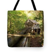 John Cable Mill In Cades Cove Historic Area In The Smoky Mountains Tote Bag