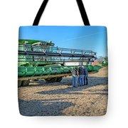 John Deere Combine Tote Bag