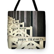 John Travolta In Deauville Tote Bag