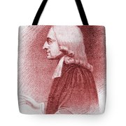 John Wesley, Anglican Minister And Christian Theologian Tote Bag