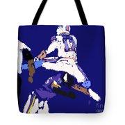 Josh Allen Hurdle Tote Bag