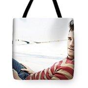 Josh Hutcherson Tote Bag