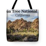 Joshua Tree National Park Box Canyon, California Tote Bag
