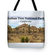 Joshua Tree National Park, California 03 Tote Bag