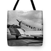 Ju-52 Taxing Tote Bag