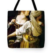Judith And Her Maidservant 1613 Tote Bag