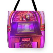 Jukebox Hero Tote Bag