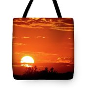 July 9-2018 Sunset  Tote Bag