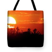 July 9-2018 Sunset Two  Tote Bag