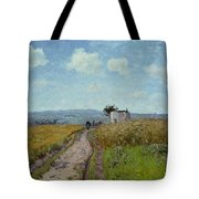 June Morning, View Over The Hills Over Pontoise, 1873 Tote Bag