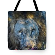 Jungle King With Kill With Killer Looks Tote Bag