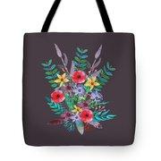 Just Flora II Tote Bag