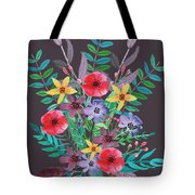 Just Flora II Tote Bag