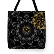 Kaleidoscope Moon For Children Gone Too Soon Number 2 - Faces And Flowers Tote Bag