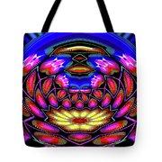 Kaleidoscopic Krystal Ball Tote Bag