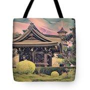 Kanagawa - The Japanese Garden Tote Bag