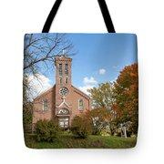 Kateri Tekakwitha Center And St. Joseph Chapel Tote Bag by Fran Riley