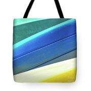 Kayak Angles And Colors Abstract II Tote Bag