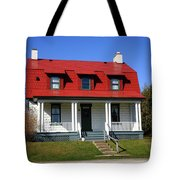 Keeper's House - Presque Isle Light Michigan Tote Bag