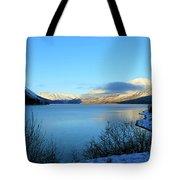 Kenai Lake Primrose Kenai Peninsula Alaska Tote Bag