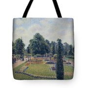 Kew Gardens - Path Between The Pond And The Palm House, 1892 Tote Bag