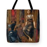 King Cophetua And The Beggar Maid 1884 Tote Bag