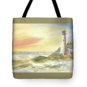 Kingdom By The Sea Tote Bag