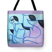 Kippot   Tote Bag by Hebrewletters Sl