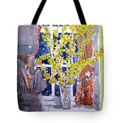 Kitchen Forsythia Tote Bag