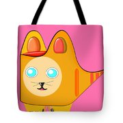 Kitten Footprints Tote Bag