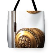 Knob And Lock Tote Bag