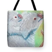 Koala With Baby - Pastel Wildlife Painting Tote Bag