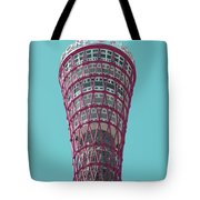 Kobe Port Tower Japan Tote Bag