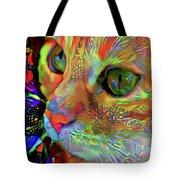 Koko The Orange Cat Tote Bag