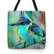 Kookaburra Blues Tote Bag by Chris Armytage