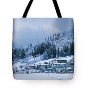 Koprivshtica Winter Panorama Tote Bag