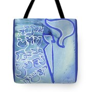 Kuf And A Group Ab25 Tote Bag by Hebrewletters Sl