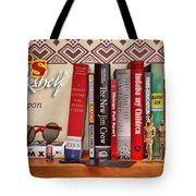Kuji's Bookshelf Tote Bag