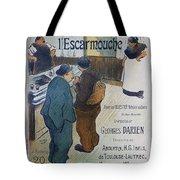 L Escarmouche, 1893 French Vintage Poster Tote Bag