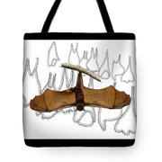 L Is For Little Red Flying Fox Tote Bag